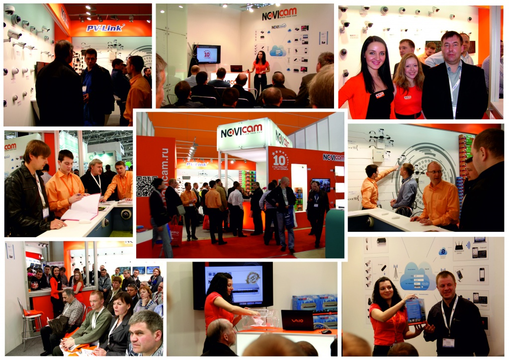 на выставке NOVIcam в Москве